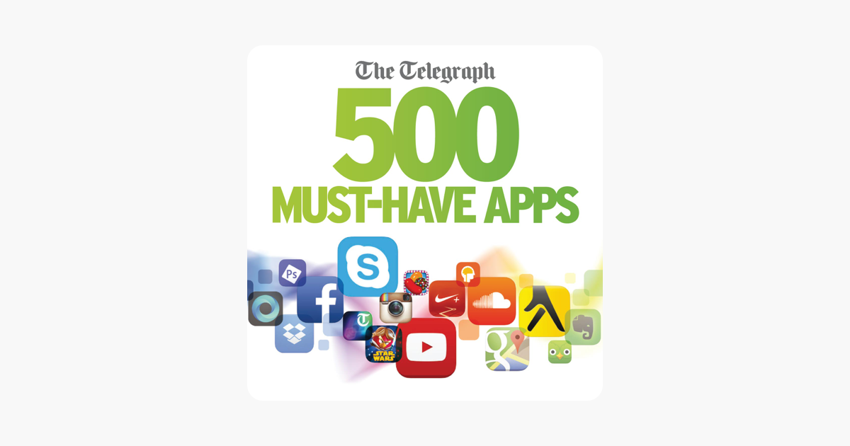 The Telegraph 500 Must-Have Apps 2014 on Apple Books