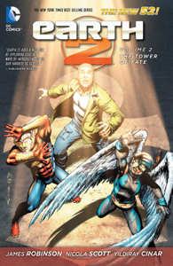 Earth 2 Vol. 2: The Tower of Fate Libro Cover
