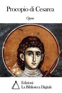 Opere di Procopio di Cesarea Libro Cover