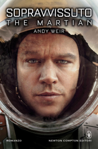 Sopravvissuto - The Martian Copertina del libro
