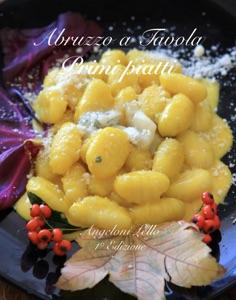 Abruzzo a Tavola Primi piatti Angeloni Lello 1° Edizione Book Cover