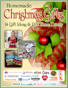 Homemade Christmas Gifts:  14 Gift Ideas & DIY Home Decor Book Review