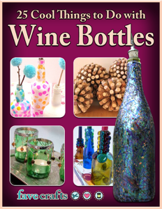 25 Cool Things to Do with Wine Bottles Book Review
