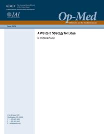 A Western Strategy for Libya book