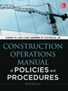 Construction Operations Manual Of Policies And Procedures Fifth Edition