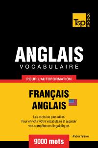Vocabulaire Français-Anglais américain pour l'autoformation: 9000 mots La couverture du livre martien