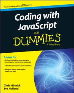 Coding with JavaScript for Dummies Book Cover