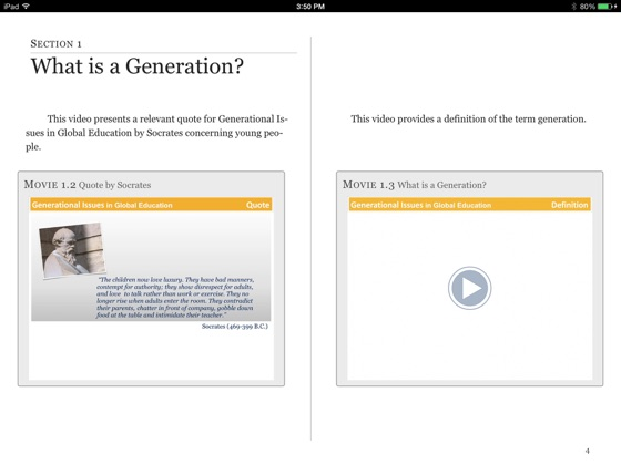 Generational Issues in Global Education on Apple Books