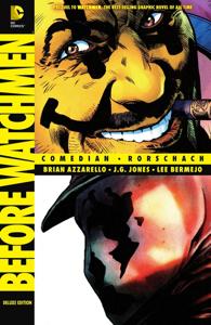Before Watchmen: Comedian/Rorschach La couverture du livre martien