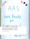 AAS Gets Ready For Kindergarten