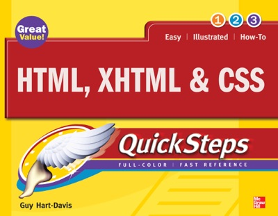 HTML XHTML  CSS QuickSteps