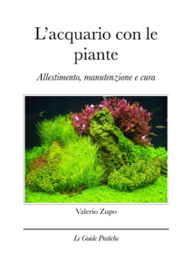 L'acquario con le piante Libro Cover