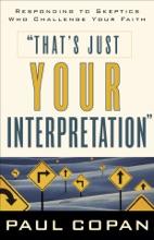 That's Just Your Interpretation
