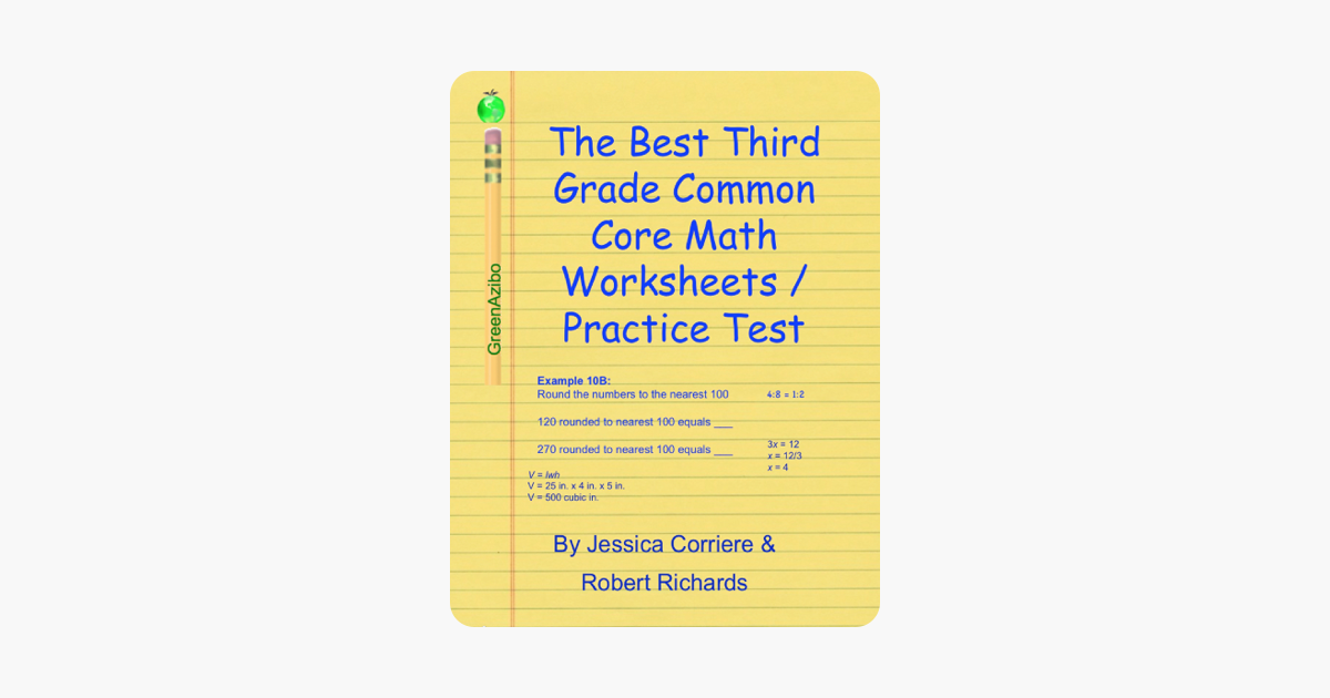‎The Best Third Grade Common Core Math Worksheets / Practice Tests