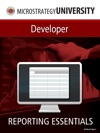 Reporting Essentials For MicroStrategy Developer