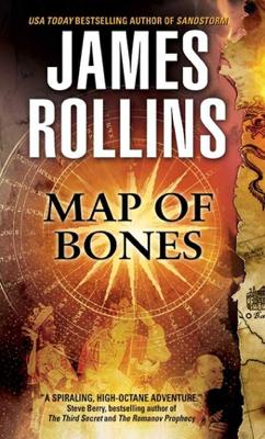 James Rollins - Map of Bones book