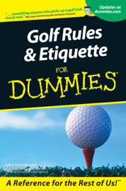 Golf Rules and Etiquette For Dummies book