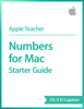 Apple Education - Numbers for Mac Starter Guide OS X El Capitan artwork