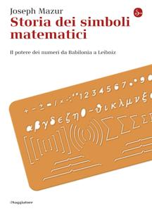 Storia dei simboli matematici Copertina del libro