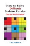 How To Solve Difficult Sudoku Puzzles