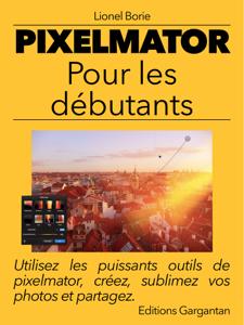 Pixelmator pour les débutants La couverture du livre martien