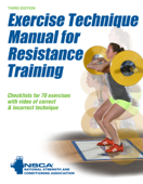 Exercise Technique Manual for Resistance Training-3rd Edition