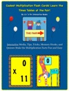 Coolest Multiplication Flash Cards Learn The Times Tables At The Fair