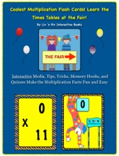 Coolest Multiplication Flash Cards! Learn The Times Tables At The Fair!