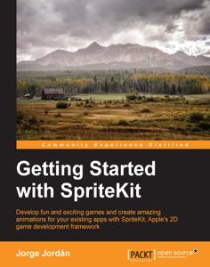 Getting Started with SpriteKit Copertina del libro
