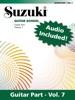 Suzuki Guitar School - Volume 7