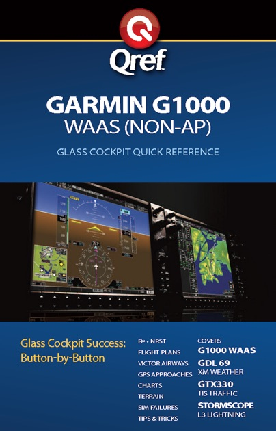 garmin g1000 waas qref checklist by bridgette doremire on ibooks rh itunes apple com