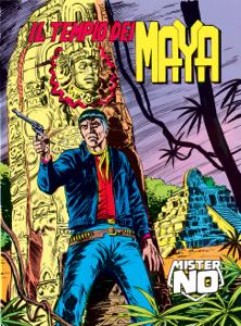 Mister No. Il tempio dei Maya Libro Cover