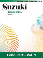Suzuki Cello School - Volume 9
