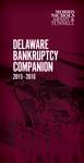 Delaware Bankruptcy 2015-2016