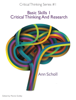 Ann Scholl - Critical Thinking Series #1: Basic Skills 1 -Critical Thinking and Research ilustración