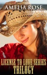 License To Love SeriesTrilogy Western Cowboy Romance