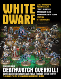 White Dwarf Issue 109: 27th February 2016 (Tablet Edition)