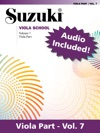 Suzuki Viola School - Volume 7