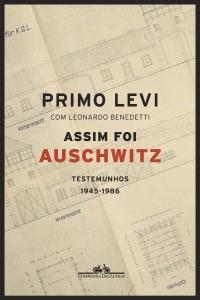 Assim foi Auschwitz de Primo Levi Capa de livro