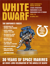 White Dwarf Issue 115: 9th April 2016 (Tablet Edition)