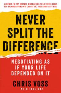 Never Split the Difference Copertina del libro