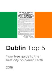 Dublin Top 5 book