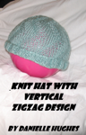 Knit Hat with Vertical Zigzag Design