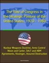 The Role Of Congress In The Strategic Posture Of The United States 1970 1980 - Nuclear Weapons Doctrine Arms Control Nixon And Carter SALT And ABM Agreements Kissinger Assured Destruction