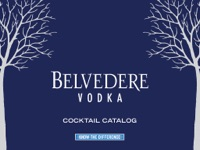 Belvedere Vodka Cocktail Catalog