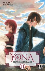 Yona, Princesse de l'Aube T11 La couverture du livre martien