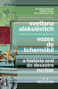 Vozes de Tchernóbil Capa de livro