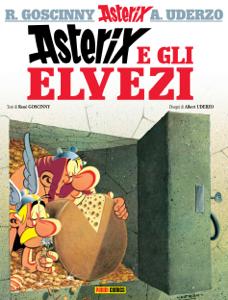 Asterix e gli Elvezi Copertina del libro