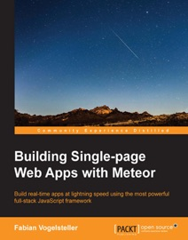Building Single Page Web Apps With Meteor