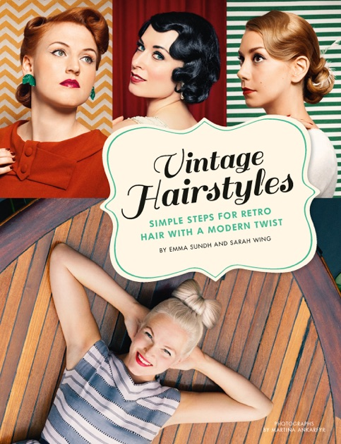 50 Unique Vintage Hairstyling Book